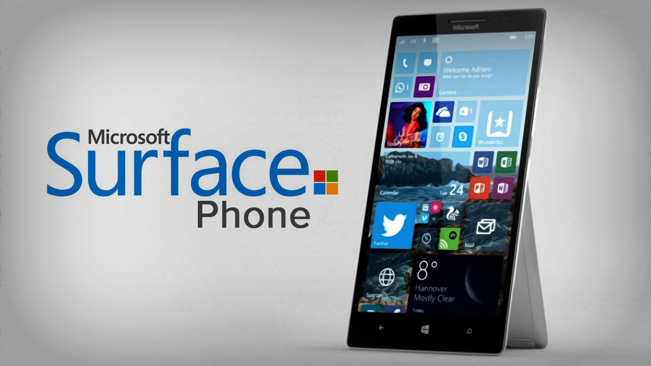Surface Phone: a patent which reveals a little design