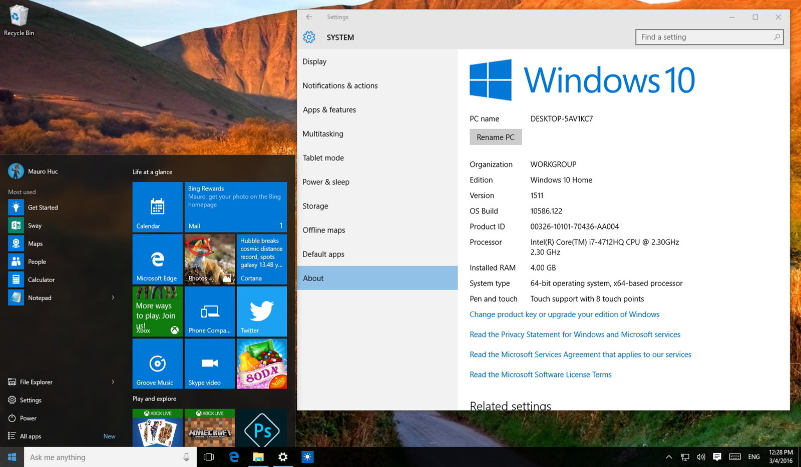 How to change 32-bit version of Windows 7/8 to 64-bit for free when upgrading to Windows 10